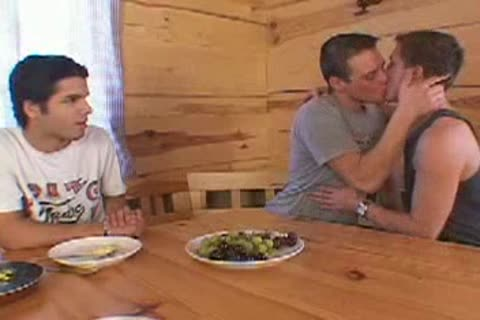 Eurotwink threesome In A Cabin