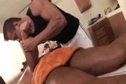old Massage Turns kinky