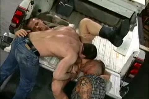 delicious gangbang With Thom Barron