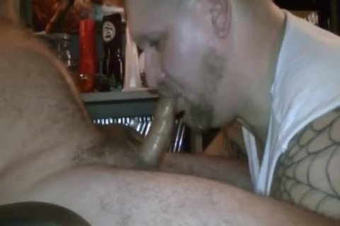 Uncut Redneck Daddy Nuts In My throat