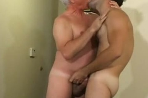 old man hammers Younger twink
