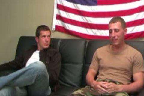 intimate First Class Roman And USMC Sam