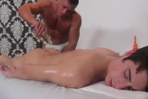 wicked Masseur plowing His Client