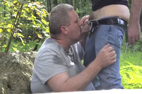 excited Chub Daddy lick And engulf