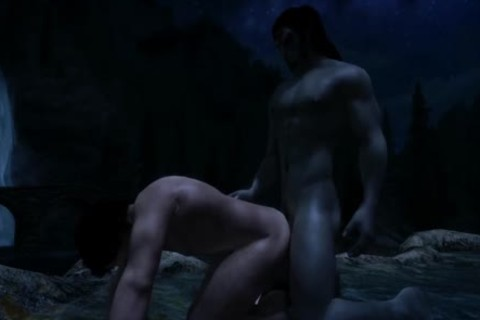 Jon Snow (Game Of Thrones) Visits Skyrim For Some man Love