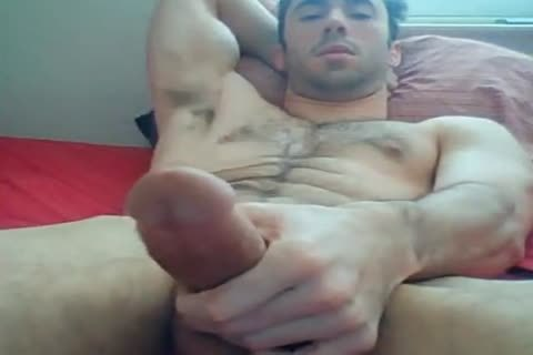 attractive Fit lad jerking off And Chatting