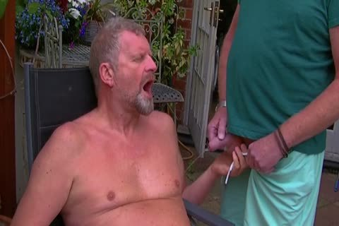 David Comes Over For Some fun In The Garden And In The Bedroom Too And I acquire His large penis In My ass Hoooo Did It Feel nice
