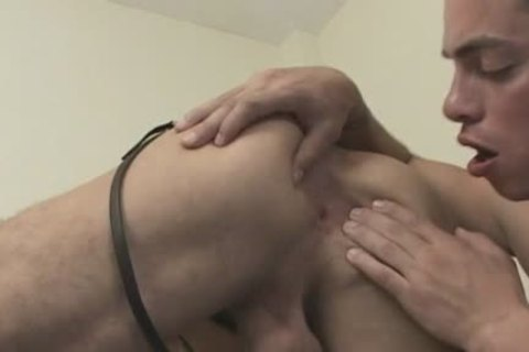 gay brunette hair chap gets nailed In The butthole Hard