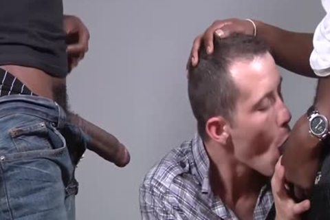 Seth Ryan Is hammered By Two darksome guys