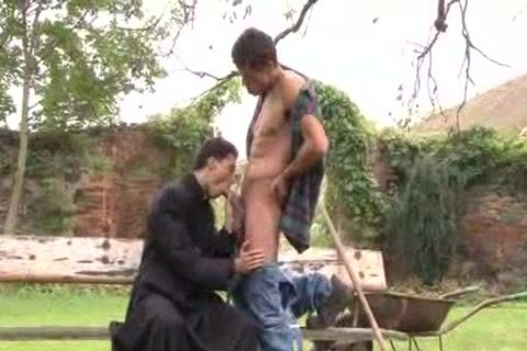 Handyman Seduces Priest