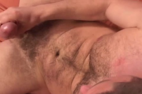 rod Spunkel acquires Off By Licking His Own wang!