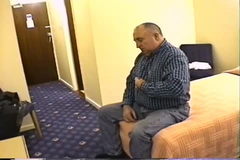 daddy man wank In Hotel Room