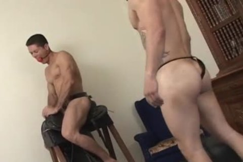 homosexual dude Jams His meat In His boy toy's aperture