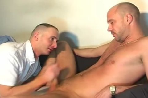 A nice innocent str8 lad Serviced His large penis By A lad In Spite Of Him!