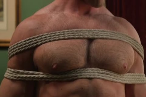 tied Up yummy twink poked