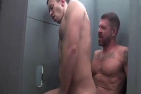 large ramrod Gloryhole With Rocco Steele