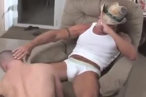 Cowboy daddy bonks wicked lad