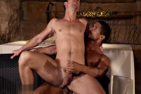 Latin lad anal plowing With ejaculation