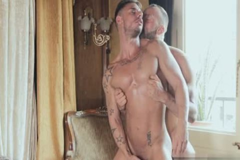 Muscle twink butthole-copulation With ejaculation