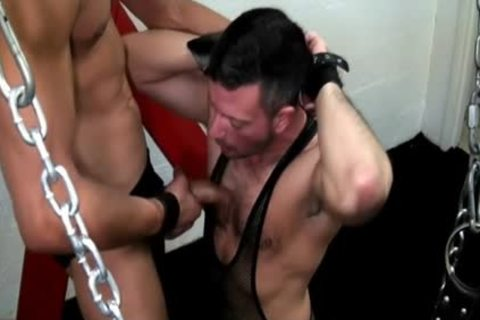 large cock Daddy oral pleasure And cumshot