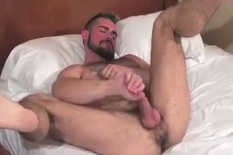 monstrous Bear Daddy Breeds taut butthole group-sex taut aperture In Some admirable Barebacking Session