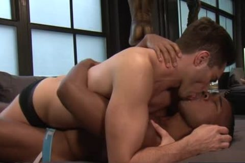 throbbing shlong homosexual Interracial And cumshot