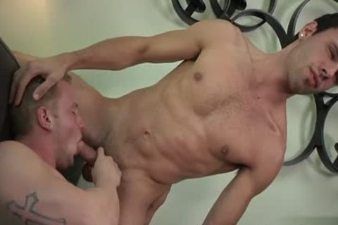 Muscle homo Foot And cumshot