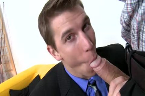 monstrous ramrod Daddy Casting And Facial