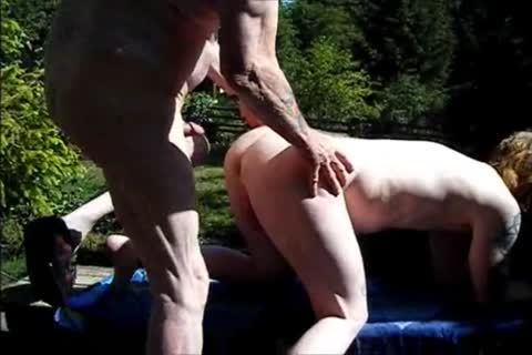 young Redhead bare With older guy