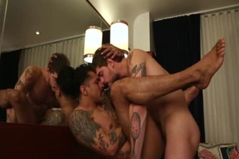 Latin homosexual anal sex And cumshot