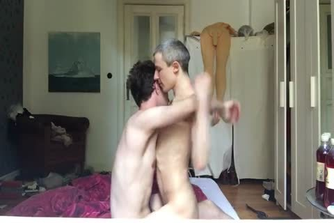 twink Is Hungry For Daddy's penis -