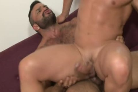 Muscle Bear oral-service stimulation And ball batter flow