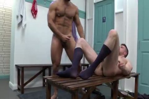 Public gay hammer With Unknown Person