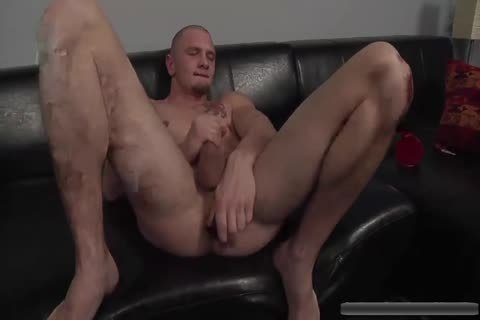 sexy stud Jerks Off With toys