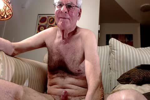 grand-dad stroke On web camera