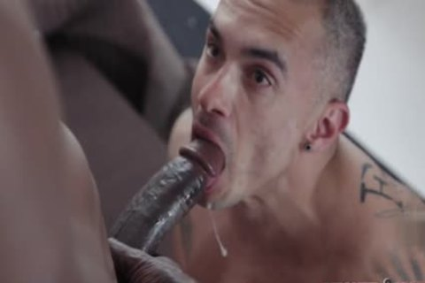 massive schlong gay anal job With Facial