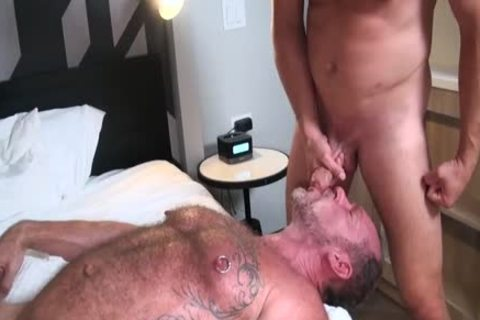 Hans Berlin nails Randy Open bare gap Until he Cums