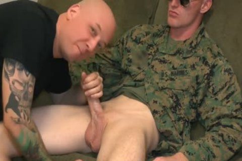 Marine Sgt James blowjob