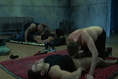 Muscle homosexual ass And ejaculation