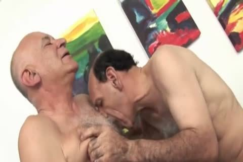 three-some Sex With Grandpas