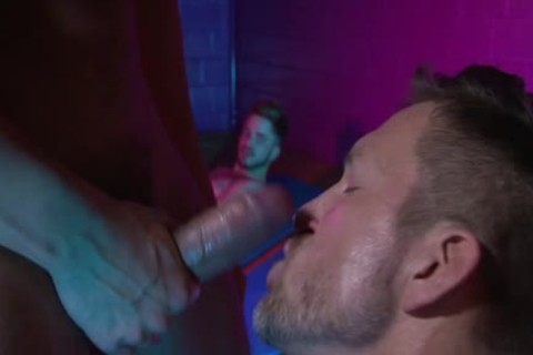 Muscle homo seduce And Creampie