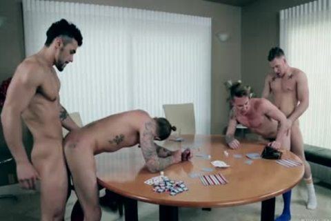 Three Homo males Have A Raunchy Collision