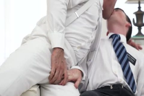 Ginger Bottom Passionately slammed raw By daddy Priest
