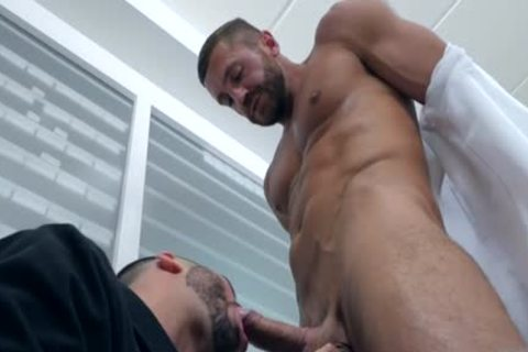 Muscle homosexual pooper job With ejaculation