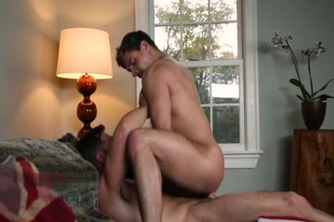 Muscle gay ass invasion With Facial