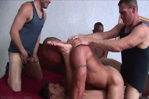 The superlatively nice Of homo double penetration - anal DP