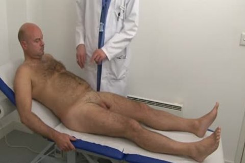 hairy Daddy Physical Checkup