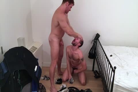 Muscle chap fucks Boyfriend raw