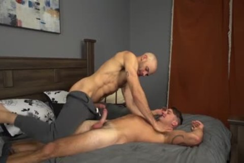 gigantic penis gay a bit of butt And Creampie