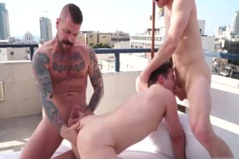large cock homo trio And Facial